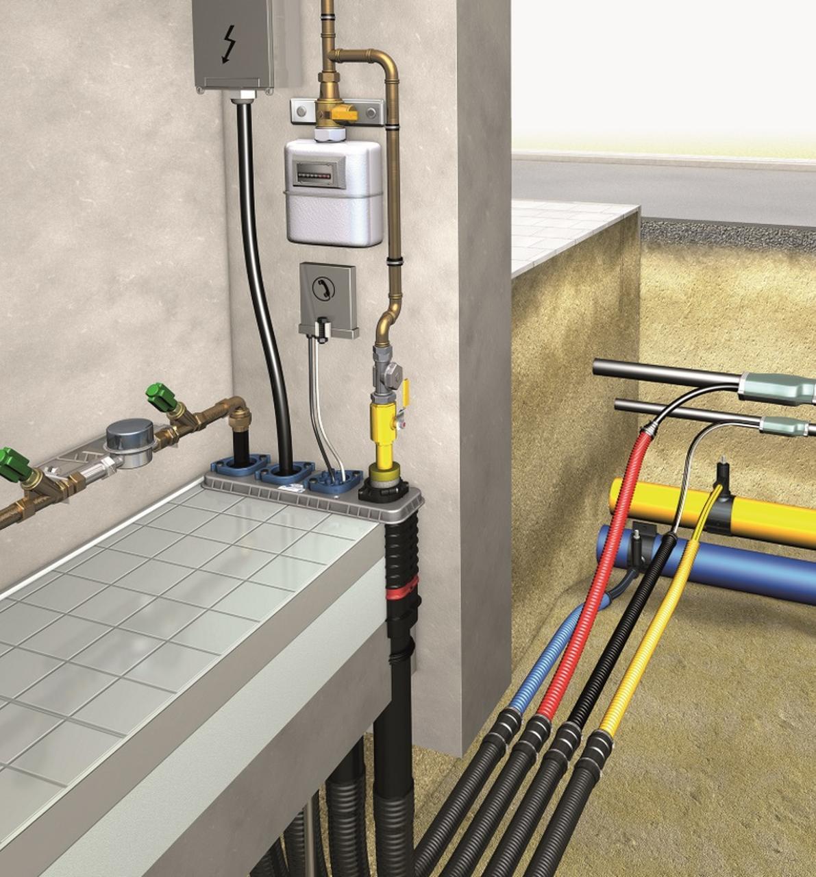 DOYMA 4-Spartenhauseinführung (BHP) All Inclusive für nichtunterkellerte Gebäude