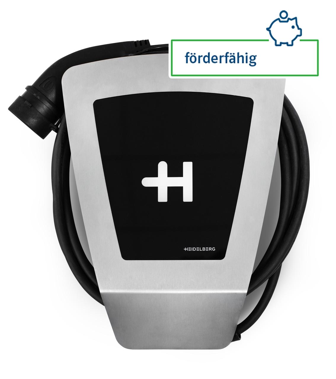 Heidelberg Energy Control Wallbox (bis 11 kW) mit Typ 2-Ladekabel