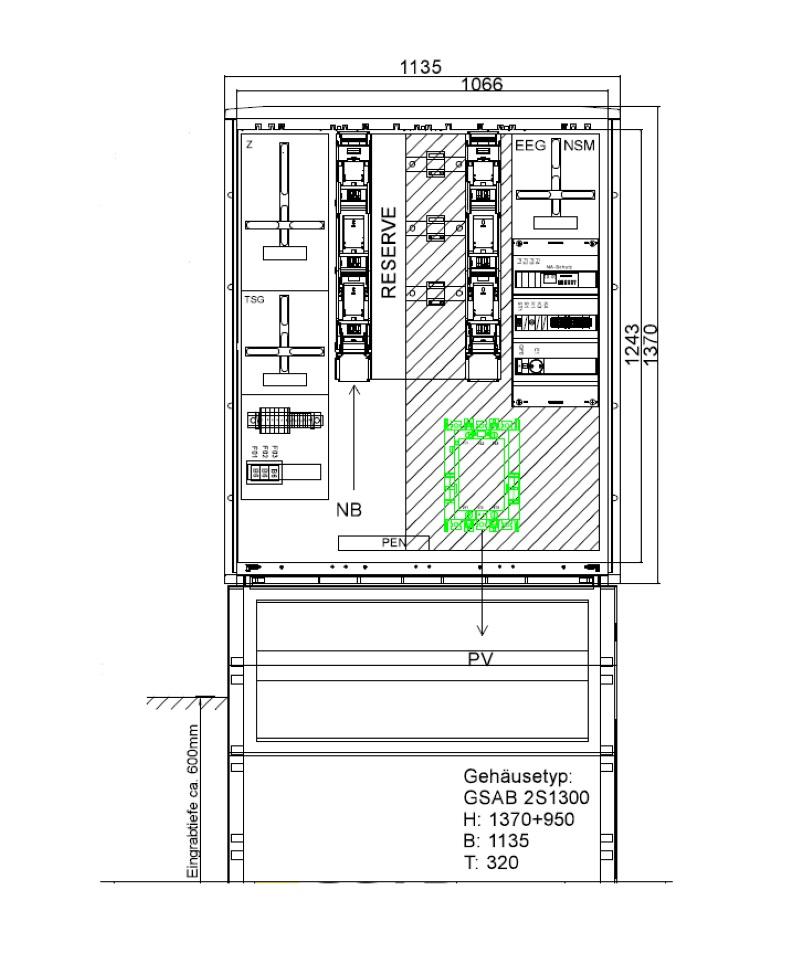 GSAB ZAS Erzeugungsanlagen bis 135kVA (Volleinspeisung)